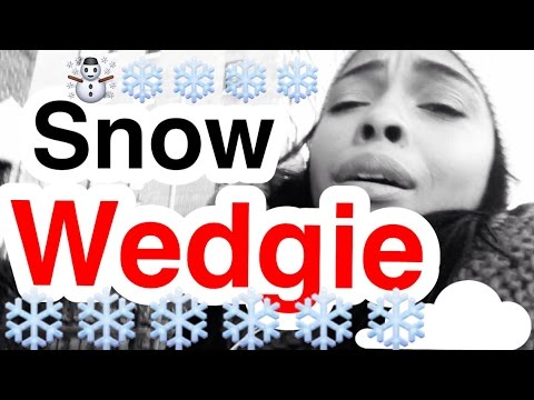 I got a snow wedgie |NYC Vlogger|