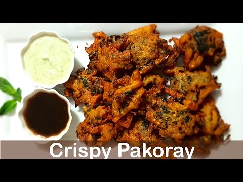 Crispy Pakoray   پکوڑے - Cook with Huda