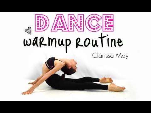 Dance Warmup Routine: Clarissa May
