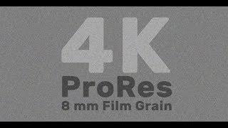 Free ProRes UHD / 4K Film Grain Overlay Downloads  – 8mm