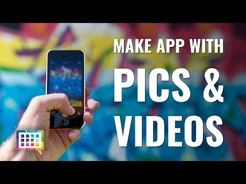 3 Ways to Add Pictures and Videos to your App