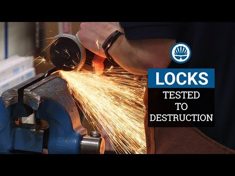 Tested - £11,000 of Bike Locks Destroyed