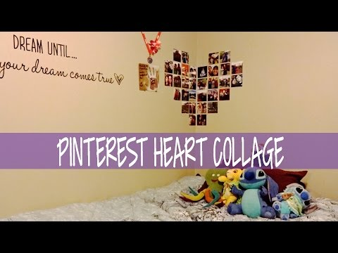 Pinterest Picture Heart Collage