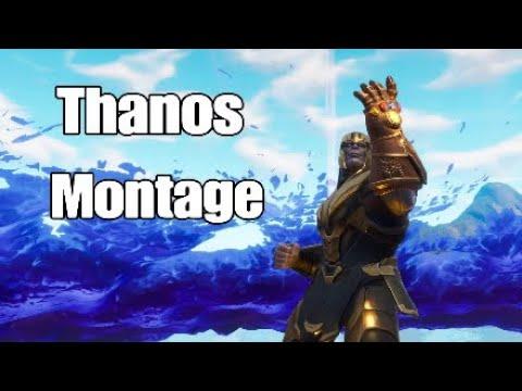 A Fortnite Thanos Montage