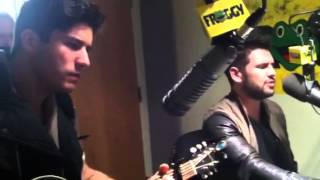 "Dan + Shay covers Rascal Flatts song, ""these days"""