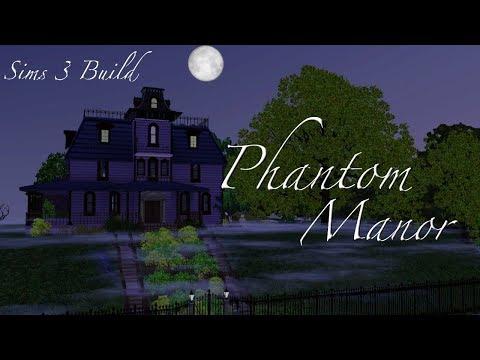 Sims 3 House Build: Phantom Manor  - Exterior