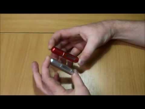 Mini Travel Refillable Empty Atomizer Spray Perfume Bottles