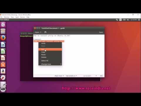 How to install p7zip on Ubuntu 16.04?