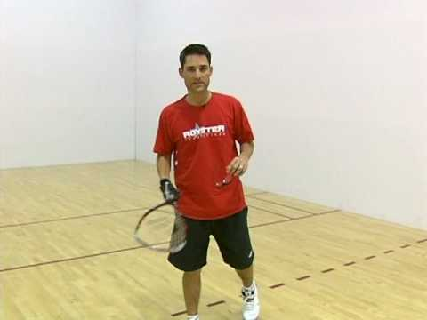 How to Play Racquetball : Positioning Tips in Racquetball