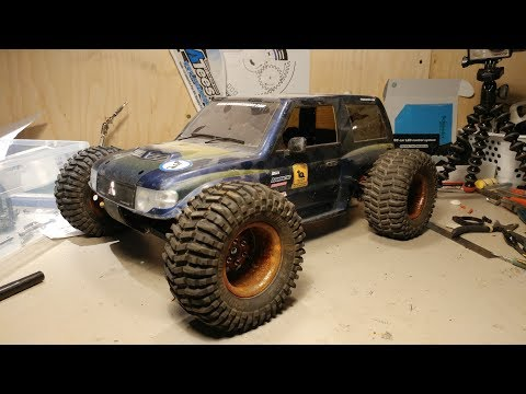 What do you do with old chassis' and parts? Build a Mongrel RC of Course.
