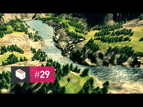 Let's Design Cities Skylines — EP 29 — The Creek in the Woods