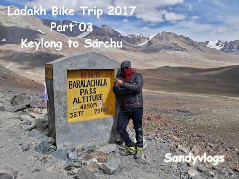Ladakh Bike trip 2017 part 03 (Chandigarh to Jammu via khardung La, Pangong Tso, Nubra Valley