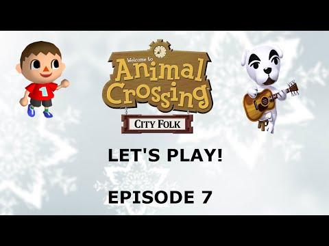 Let's Play Animal Crossing: City Folk Episode 7: Town Tune!