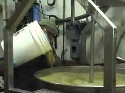 Natural Way Organics organic bar soap making in action.