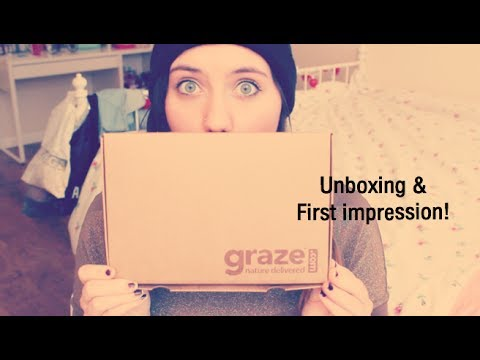 Graze.com Unboxing & first impression!