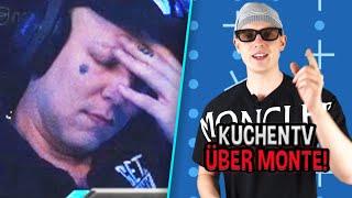 """REAKTION auf """"Montanablack hört mit TWITCH AUF?"""" 🤔 (KuchenTV)   MontanaBlack Reaktion"""