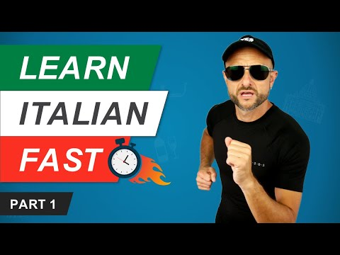 Best Ways to Learn or Improve Your Italian - Fast Track Italian (PART 1 of 3)