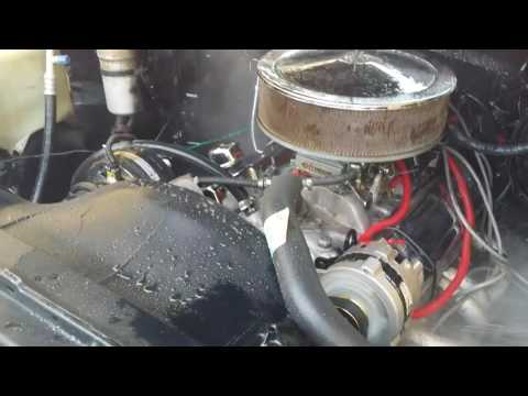 Cleaning a 86 Chevy Silverado C10 engine bay. HD