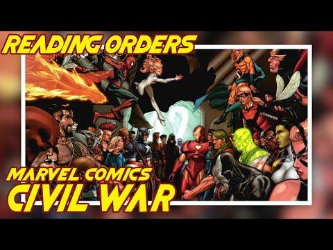 Reading Orders - Marvel's Civil War