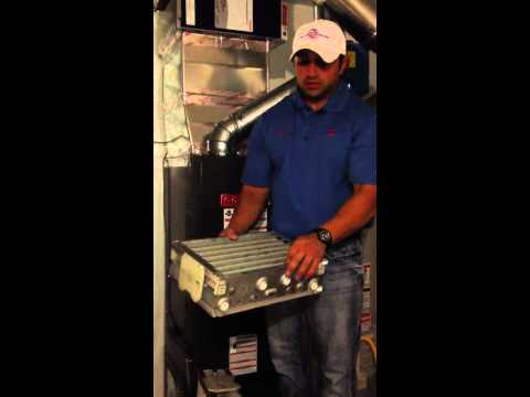 How to clean an Electronic Air Cleaner System