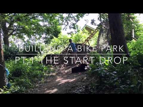 BUILDING A HUGE MTB drop