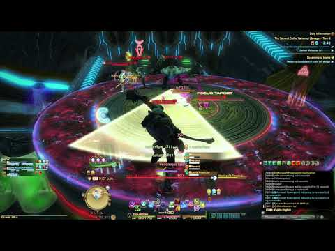 FINAL FANTASY XIV: The Second Coil of Bahamut (Savage) - Turn 2 (T7S) - Duo (WAR+SCH) - SCH PoV