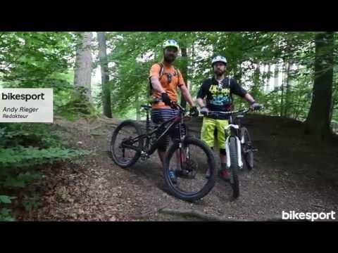 bikesport Magazin - Mountainbike Fahrtechnik: Wurzeln meistern