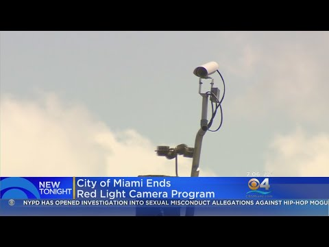 City Of Miami Ends Red Light Camera Program