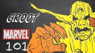 Groot – Marvel 101 – Monsters Unleashed