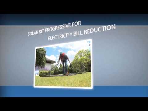 SOLAR KIT PROGRESSIVE FOR  ELECTRICITY BILL REDUCTION - PARALLELE ENERGIE SPRL