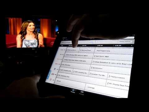 Comcast XFINITY TV iPad App - Remote Control Feature