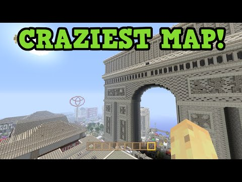 COOLEST MAP EVER - DayZ in Minecraft Xbox One
