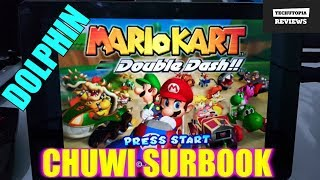 Chuwi Surbook Dolphin Gaming test/Gamecube Games/Emulator/Gamepad(Intel Celeron N3450)