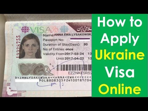 How To Apply Ukraine Visa From India