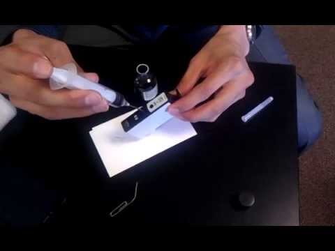 How to REFILL  Ink Carthidge for HP Photosmart Premium C410 Series