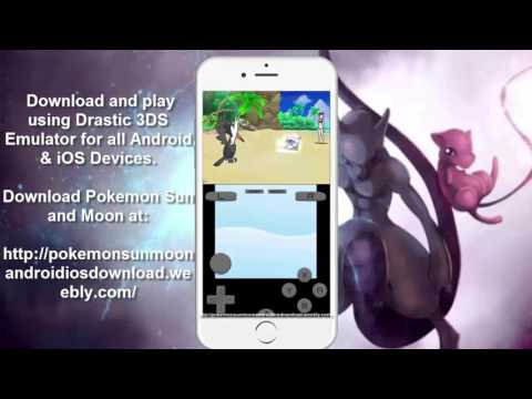 [NEW] Pokémon Moon Drastic Emulator Download [3DS] [iOS]
