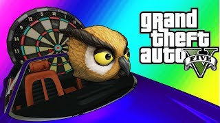 GTA5 Online Funny Moments - Vanoss the Scooper (Overtime Rumble Rematch)