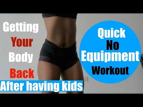 10 MINUTE NO EQUIPMENT AT HOME WORKOUT