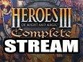 Heroes 3 Live Stream ( PVP VS Mekick Part 1)