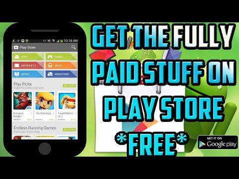 How to Download free books, games and apps form Google playstore