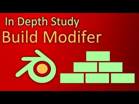 In Depth Study of Blender: Build Modifier