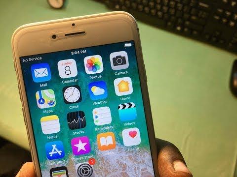 Iphone 4/5/5s/6/6s/7/8/10 no service problem fix || fix no network problem on iphones||