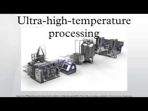 Ultra-high-temperature processing