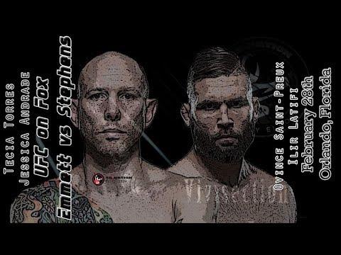 The MMA Vivisection - UFC on FOX 28: Emmett vs. Stephens picks, odds, & analysis