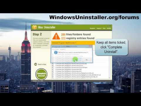 How to Uninstall MyWinLocker?
