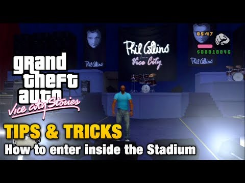 GTA Vice City Stories - Tips & Tricks - How to enter inside the Stadium
