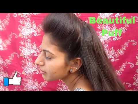 Simple & Easy Front Puff Hairstyle Under 2 Minuts