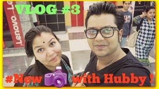 vlog#3/New camera with Husband/Meet my Husband