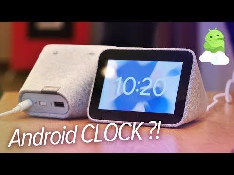 Lenovo Smart Clock hands-on: A Google Assistant alarm clock?!