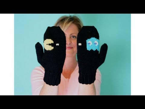 Learn to Knit Mittens Parts 1 - 5